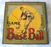 c.1910 Milton Bradley Game of Base Ball