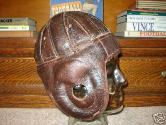 Leather Football Helmet - Grange Style