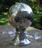 1925 Figural Basket Ball Trophy